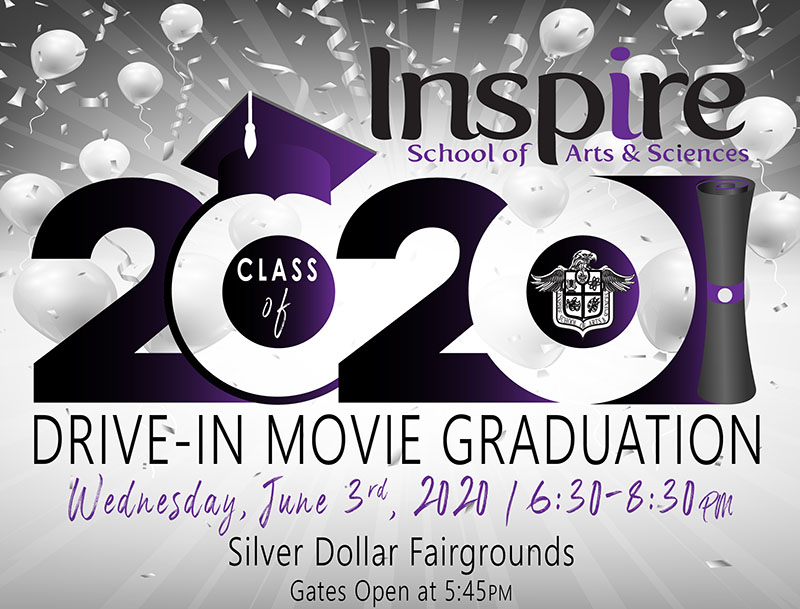 Inspire Graduation Event Banner Photo